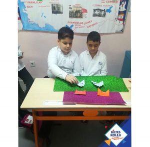 Biltes Koleji - 4. Sınıflar'ın Origami Etkinliği
