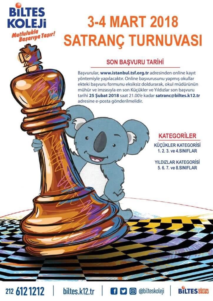 Biltes Koleji II. Geleneksel Satranç Turnuvası Başlıyor