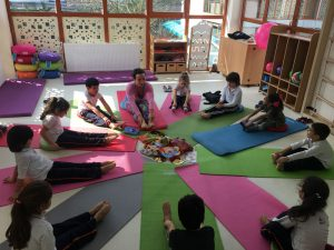 Biltes Koleji Kemerburgaz Kampüsü'müzde Yoga Etkinliği