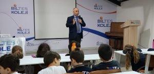 Biltes Koleji - Kızılay Genel Sekreteri Hüseyin Can, Biltes Koleji'nde!