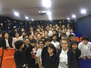 """Biltes Koleji - """"Success Day"""" Buluşmalarında Ünlü Tiyatrocu Deniz Özerman'ı Ağırladık"""