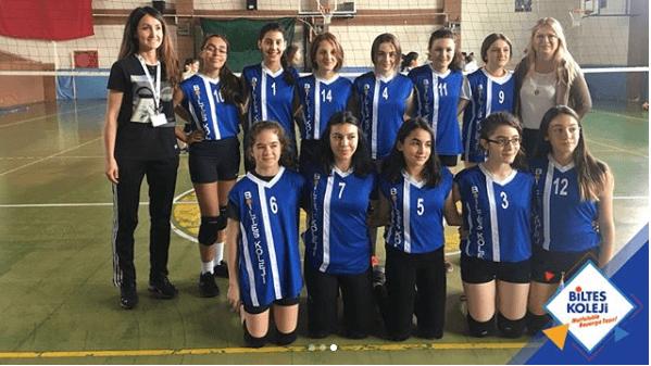 Biltes Koleji - Voleybol Takımımız Yıldız Kızlarda Şampiyon Oldu