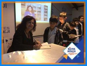 Biltes Koleji - Yazar Sevim Ak, Öğrencilerimizle Buluştu